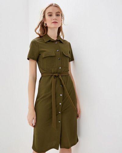 Платье весеннее хаки Vila