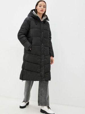 Утепленная куртка - черная S.oliver