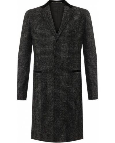 Пальто однобортное шерстяное Givenchy