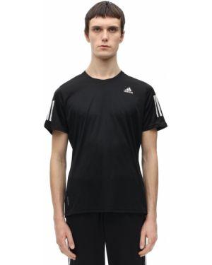 Koszula z logo z paskami Adidas Performance