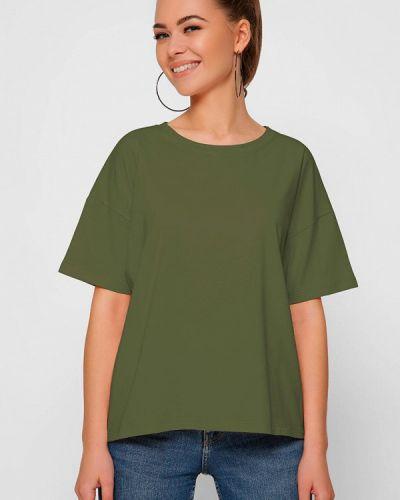 Зеленая футболка с короткими рукавами Carica&x-woyz
