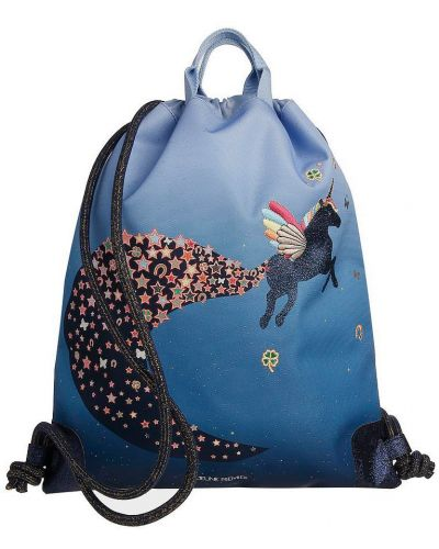 Синяя сумка Jeune Premier