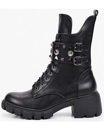 Черные зимние ботинки Tulipano