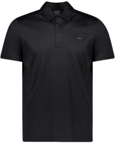 T-shirt - czarna Paul & Shark