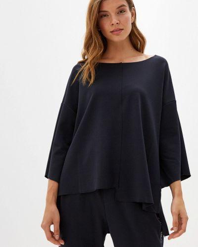 Блузка с длинным рукавом синяя итальянский Perfect J