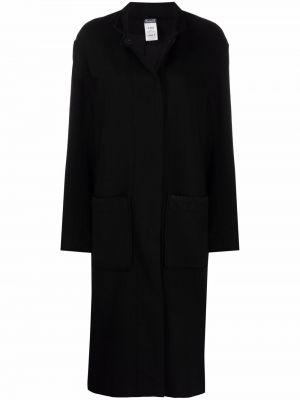 Черное кашемировое пальто Kristensen Du Nord