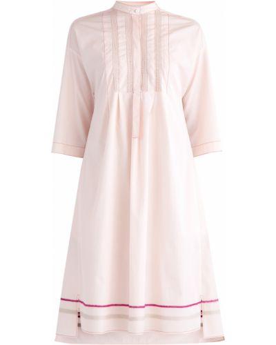 Платье расклешенное с кокеткой Agnona