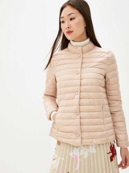 Зимняя куртка весенняя розовая Geox