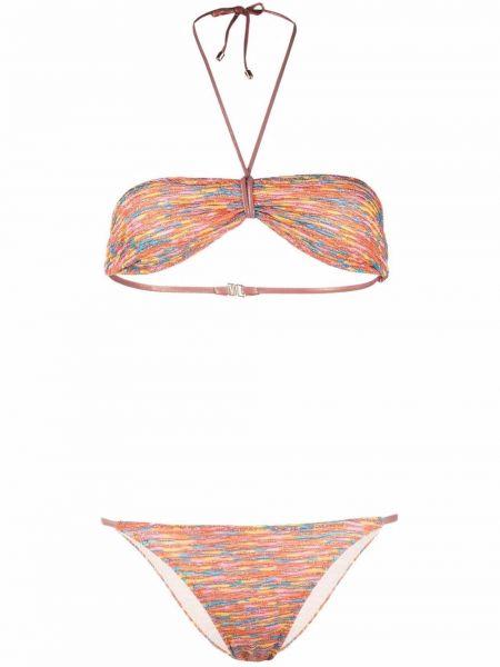 Оранжевый купальник из полиэстера Missoni Mare