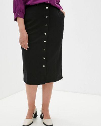 Черная весенняя юбка Svesta
