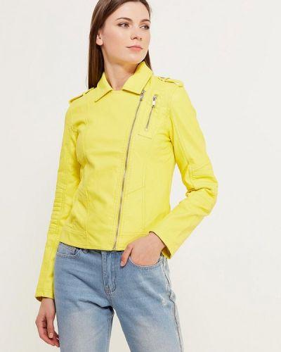 Желтая куртка Modis