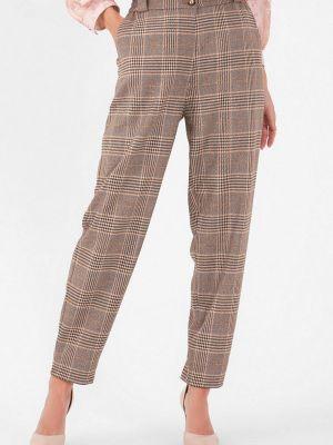 Коричневые зимние брюки Lo
