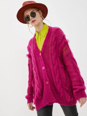 Розовый кардиган осенний Twinset Milano