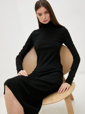 Вязаное платье - черное Joseph