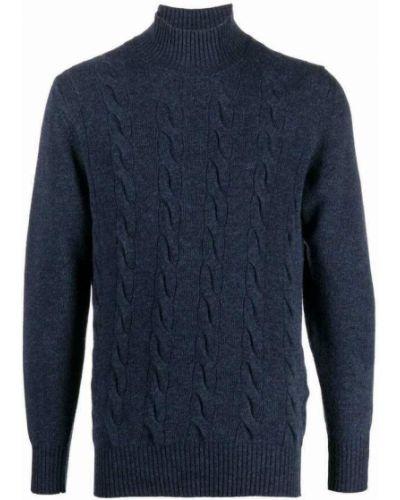 Niebieski sweter Tagliatore