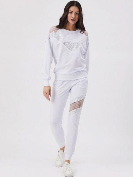Брючный костюм белый D'she