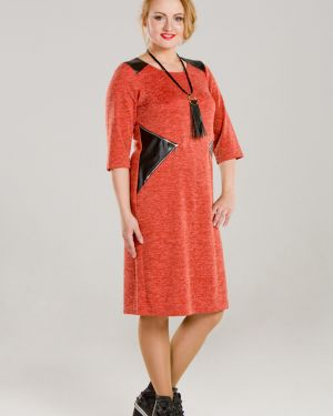 Платье со вставками платье-сарафан марита