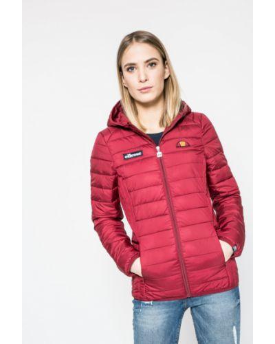 Утепленная куртка с карманами красная Ellesse