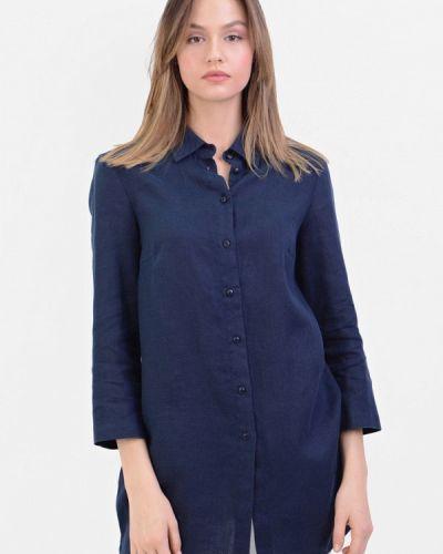 Блузка синяя Lino Russo