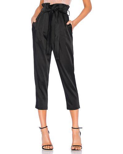 Klasyczne czarne majtki z nylonu Amanda Uprichard