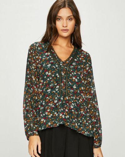 Блузка с кокеткой с V-образным вырезом Answear