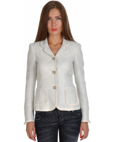 Хлопковый пиджак - белый Guess By Marciano