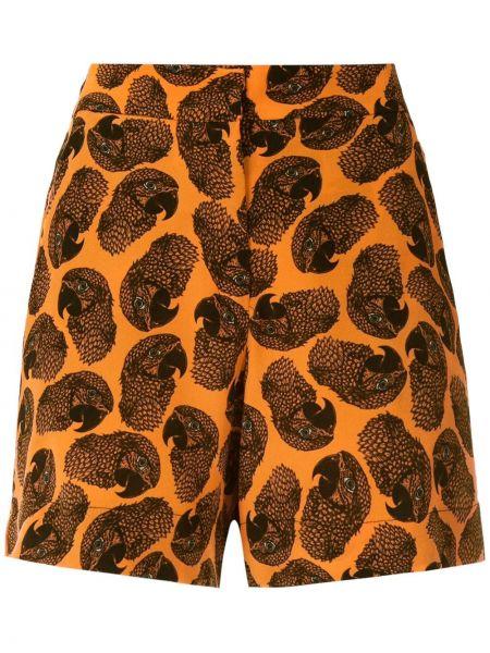 Шорты с карманами - оранжевые Eva