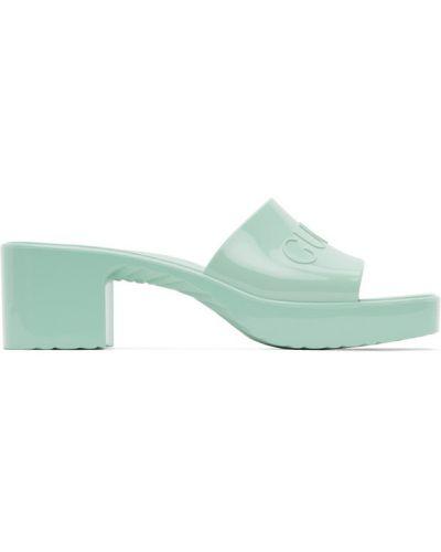 Otwarty z paskiem sandały plac na pięcie Gucci