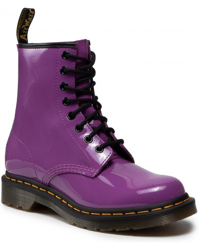 Glany - fioletowe Dr. Martens