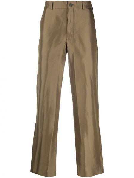 Spodnie khaki z paskiem Comme Des Garcons Homme Plus