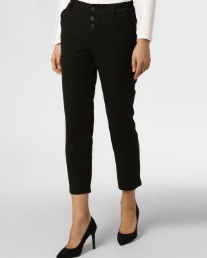 Czarne spodnie peep toe Mavi