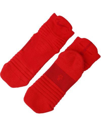 Красные носки Nike