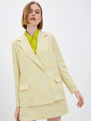 Желтый пиджак Rinascimento