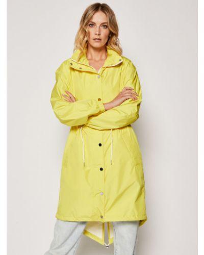 Żółta parkа Karl Lagerfeld