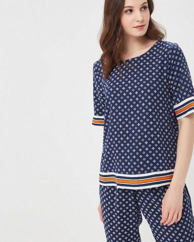 Синяя блузка Jacqueline De Yong