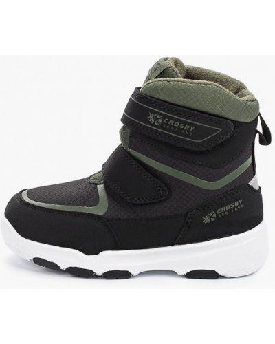 Ботинки черные Crosby