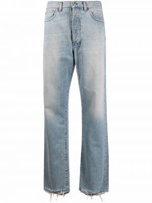 Синие джинсы с карманами 3x1