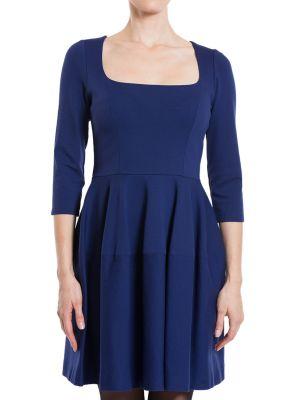 Платье из вискозы - синее Plein Sud