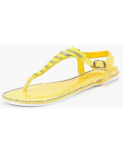 Желтые сандалии Saivvila