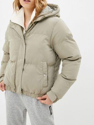Серая демисезонная куртка Brave Soul