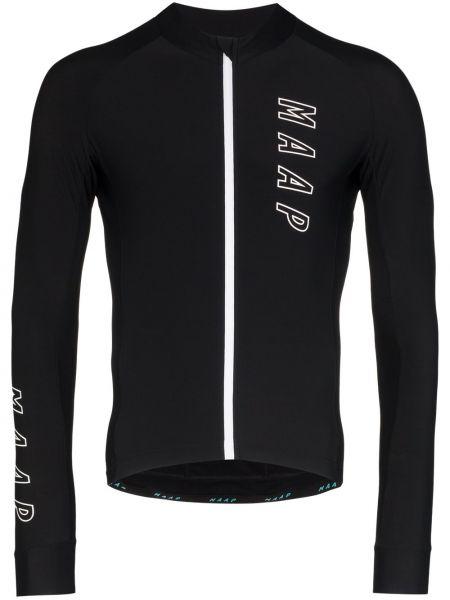 Черная спортивная футболка Maap