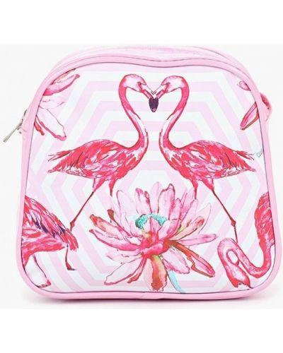 Розовая кожаная сумка Kenkä