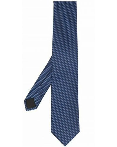 Niebieski krawat Hugo Boss