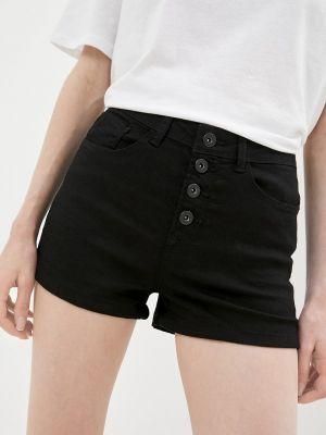 Черные джинсовые шорты Koton