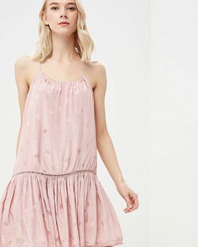 Прямое розовое платье Femi Stories
