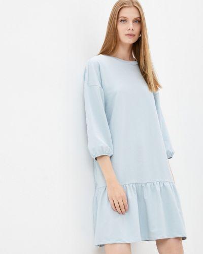 Платье - голубое Ichi