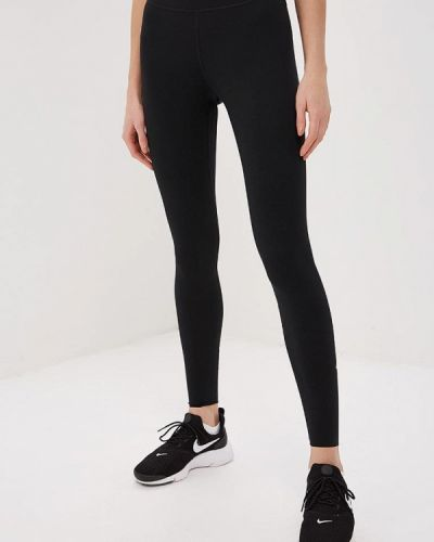 Черные леггинсы Nike