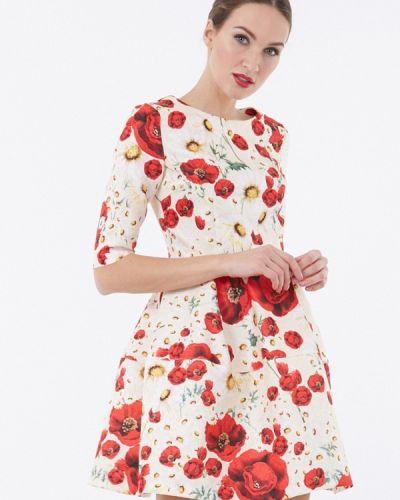 Белое платье мини Vladi Collection