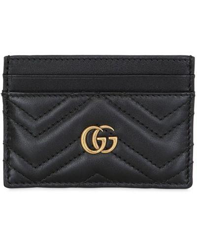 Кожаный кошелек с логотипом Gucci
