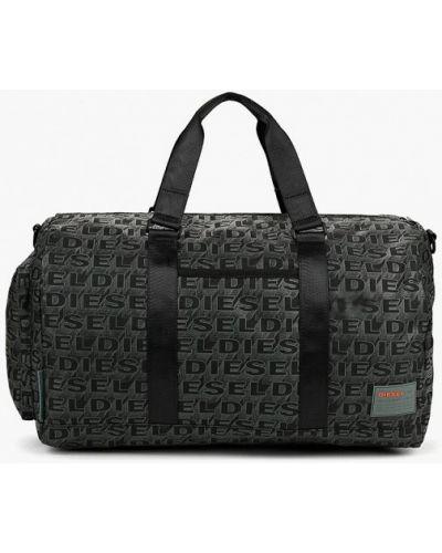 Серая спортивная сумка Diesel